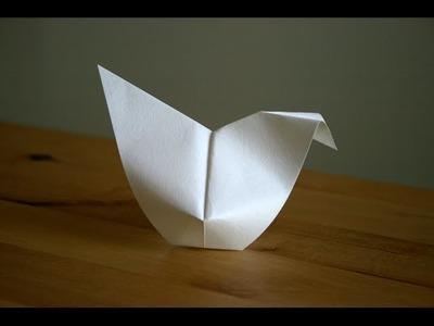 Origami - Poule de Pâques - Easter Hen [Senbazuru]