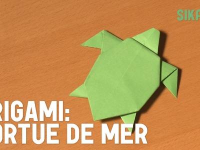Origami : Tortue de mer - HD