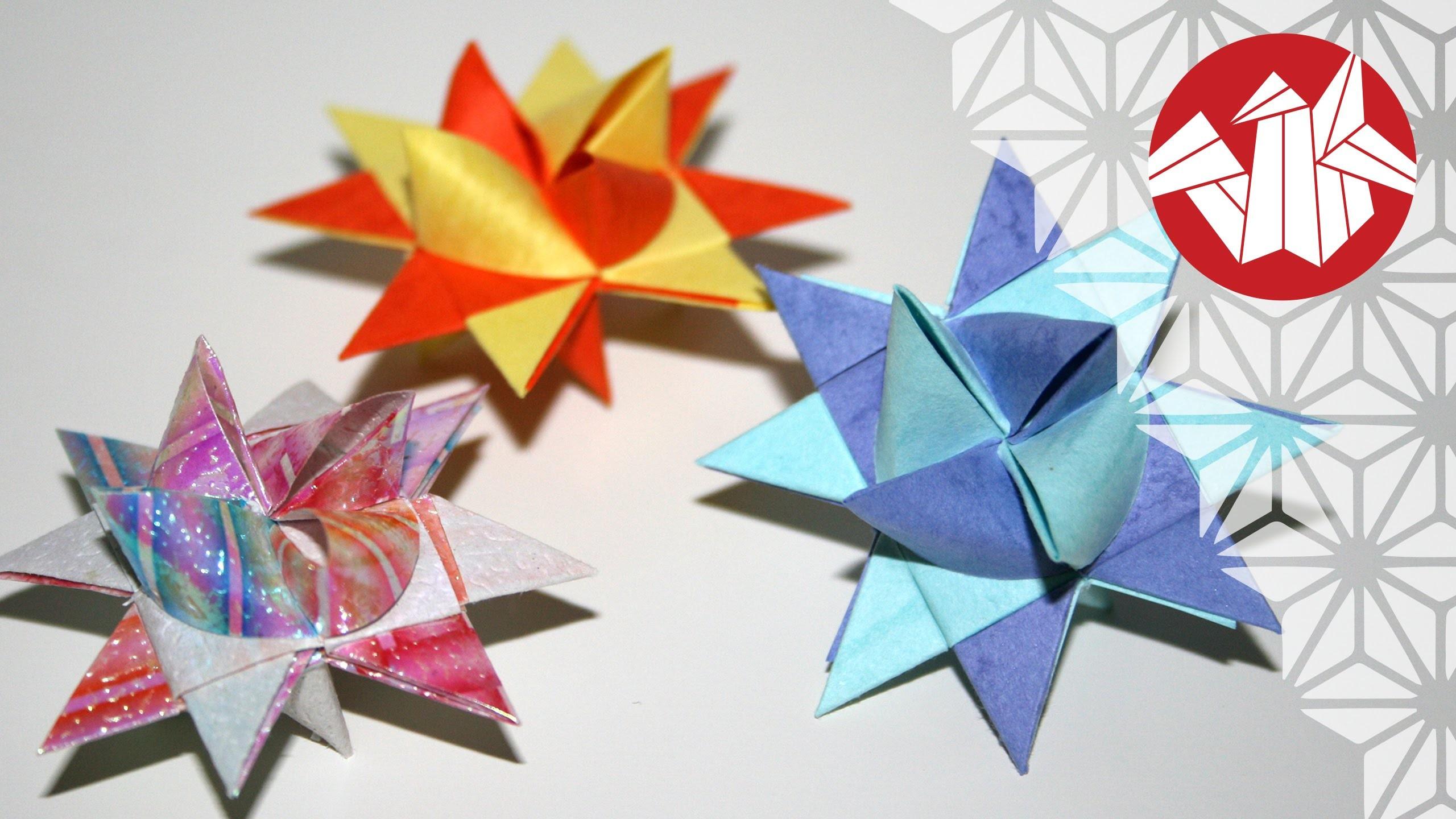 tuto origami etoile allemande de noel fr ebelstern. Black Bedroom Furniture Sets. Home Design Ideas