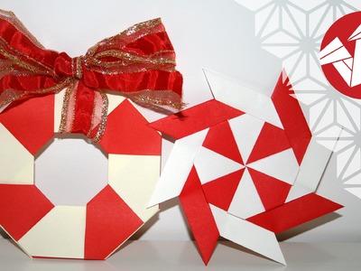 Tuto Origami - Etoile magique de Noel [Senbazuru]