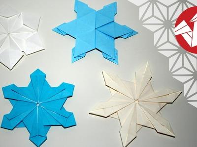 Tuto Origami - Flocons de neige [Senbazuru]