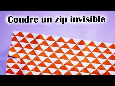 Coudre une fermeture invisible