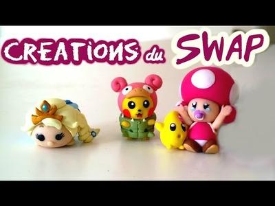 Les créations FIMO du Swap pour Tipivoine !