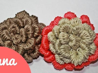 Crochet 3D Rose