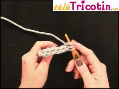 Faire une cordelette, i-cord ou tube en crochet