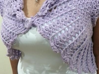 Torera a Crochet PARTE 1