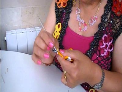 Comparte tu talento: Chaleco de crochet. Parte II