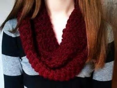 Apprendre comment faire une écharpe ( Facile niveau débutant )