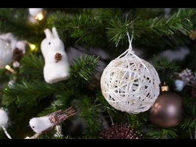 DIY Noël : Boule en laine