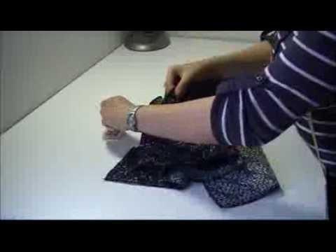 Tutoriel : Veste cardigan en maille bouclette partie 2.3
