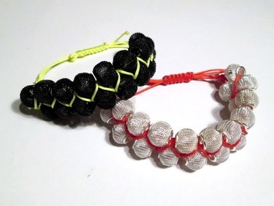 ❤ D.I.Y TUTO DOUBLE BRACELET SHAMBALLA 2013 SHAMBALLA ZIG ZAG ; HOW TO MAKE EASY SHAMBALLA 2013