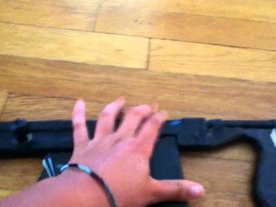 Paper Mâché Tommy Gun