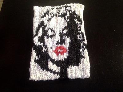 Marilyn Monroe en Mural CraZ loom Tutoriel en Français PART 1