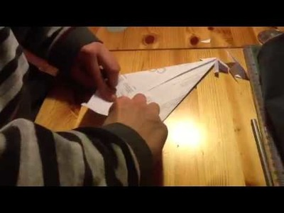 Origami facile sapin de Noël