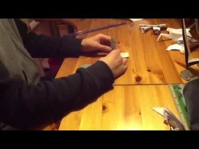 Origami nœud papillon en billet
