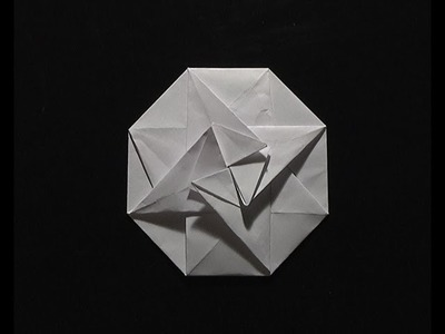 Origami pliage papier tato