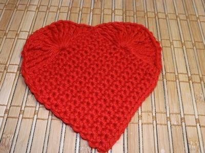 Corazon de San Valentin a crochet - con Ruby Stedman