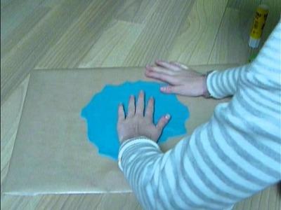Fabriquer un sous-main de bureau - Make a blotter desk !