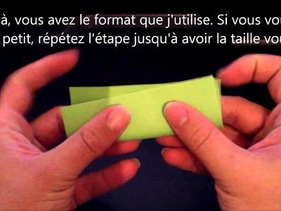 Pliage de papier pour Origami 3D