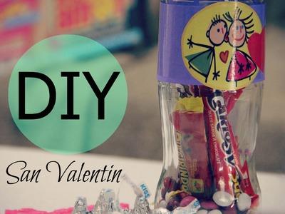 DIY San Valentine´s Day. botella San Valentín.