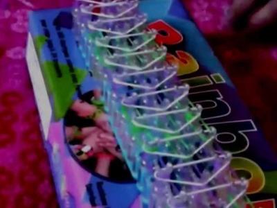 Rainbow loom- bracelet 3 rangs- facile