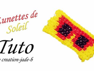 Tuto Alpha Loom - Porte Clé Lunettes de Soleil ! ( Mural )