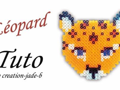 Tuto Perles à ressasser (Hama) - Léopard !