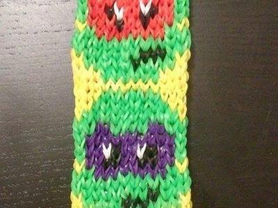 Tuto bracelet lastique en chelle arc en ciel rainbow for Mural en elastique