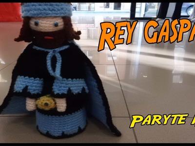 Rey Gaspar de crochet Parte 1.3