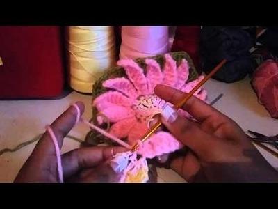 Flor a crochet facil N.2- Parte 1 de 2