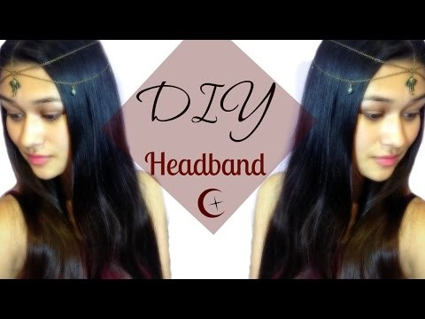 DIY - BIJOU DE TÊTE ✰ HeadBand