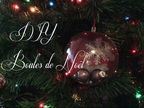 DIY - Boules de Noël