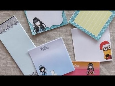 DIY : créer ses propres post-it. sticky notes