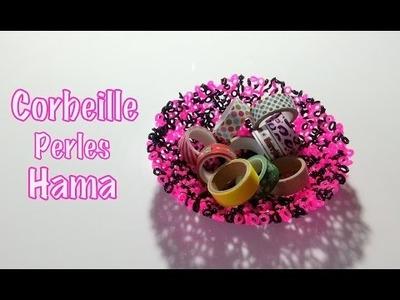 DIY Faire une corbeille avec des perles à repasser Hama