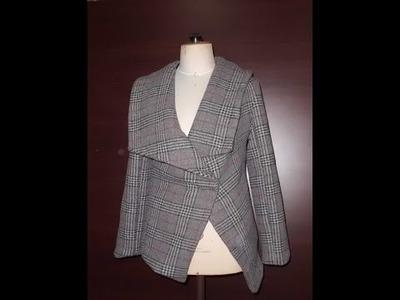 الحلقة 289 (DIY manteau avec col châle pointu (4