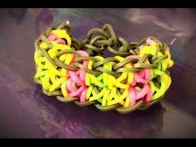 Bracelet élastique Totem Pole rainbow Loom France