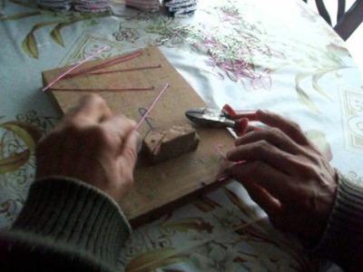Perchitas de alambre para souvenir