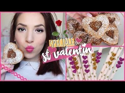 ♡ St Valentin ! (Maquillage + Recettes + DIY)