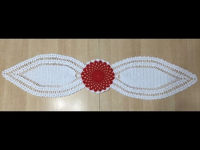 Tuto chemin de table au crochet 1.2