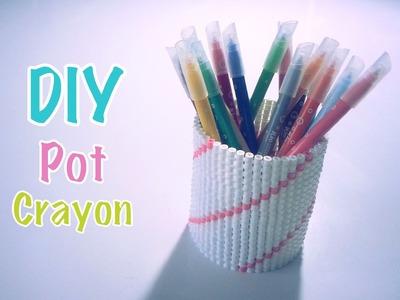 DIY Pot à crayons perles à repasser Hama