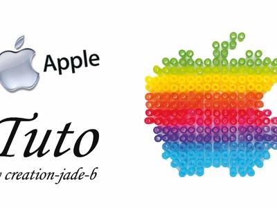 Tuto Perles à repasser (Hama) - Logo Apple !