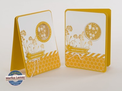 Carte à secouer -shaker card-Stampin' Up!-