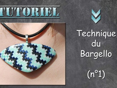 Tuto fimo.polymère technique du Bargello n°1 (participation exceptionnelle de Lulu)