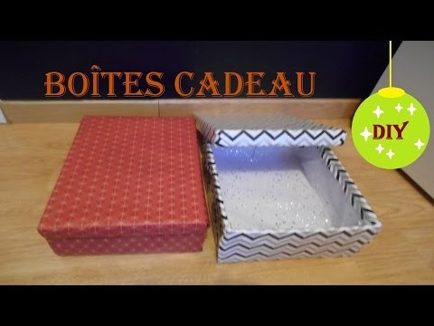 DIY Boîte cadeau