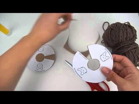 DIY - Réalisation d'un Pompon pour chat