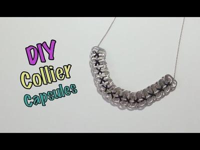 DIY Recyclage Collier avec Capsules de Canettes