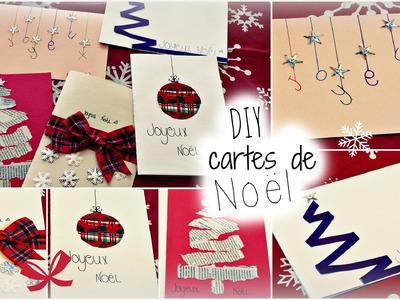 DIY | cartes de Noël !!