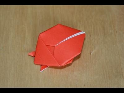 Origami - Coccinelle - Ladybug [Senbazuru]