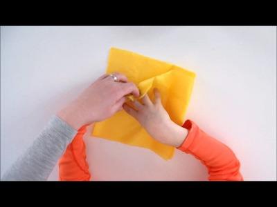 Bricolage de Pâques pour enfants. Fabriquer un nid en papier pour Pâques