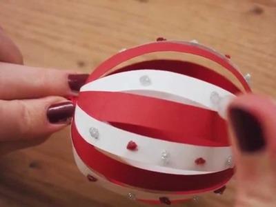 Bricolage - la boule de Noël